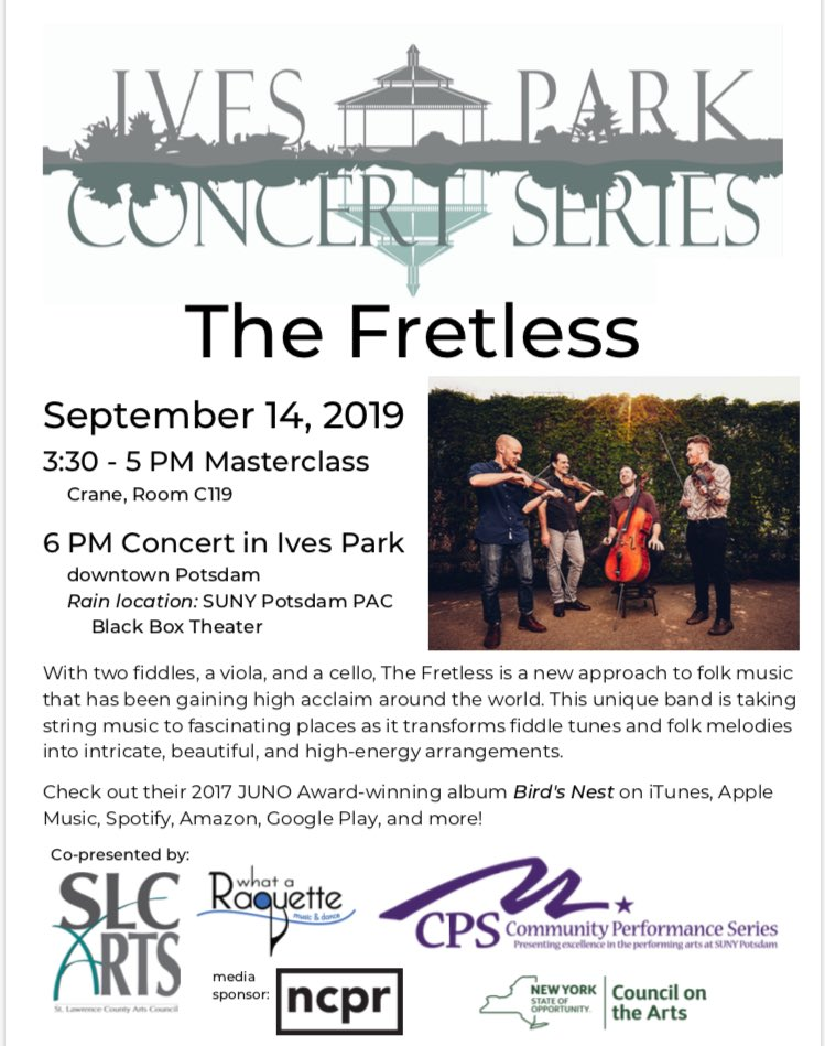 RT @cranestrings: Who's coming to jam?🎻@TheFretless #cranestrings #nofretsneeded https://t.co/2PmWoXGed9