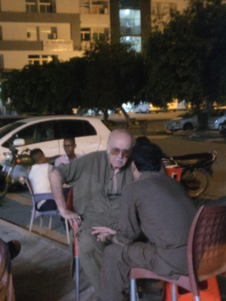 why the FUCK is STAN LEE at Quetta hotel???????????????????????????