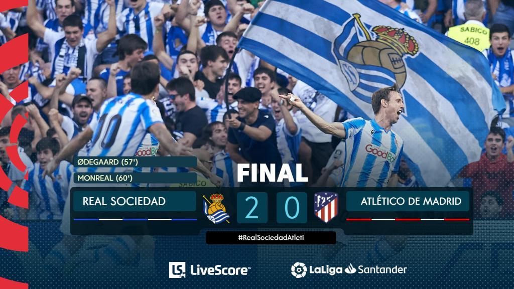 Real Sociedad-Atletico Madrid