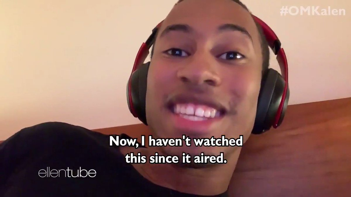 .@TheKalenAllen reacts to his first appearance on my show 2 seasons ago. #OMKalen