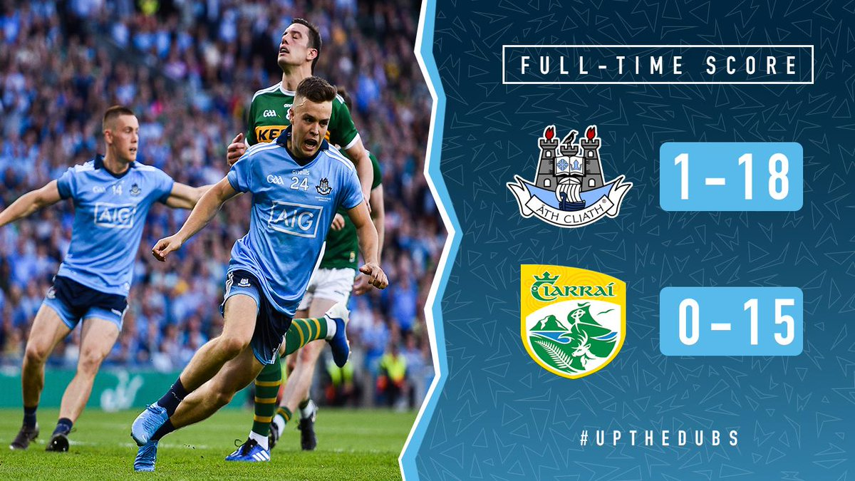 History makers 🙌💙  Dublin are All-Ireland Champions once again!   #UpTheDubs