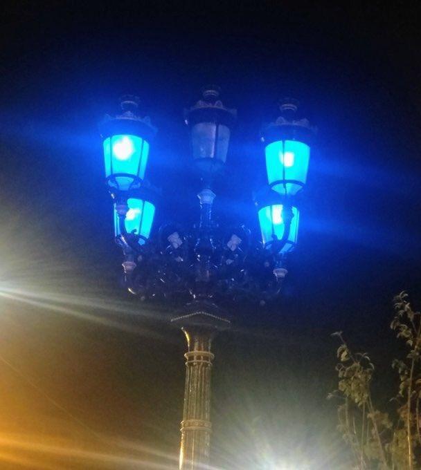 Paint it blue 🏆🏆🏆🏆🏆 #DUBvKER #UpTheDubs #5lamps