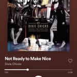 Image for the Tweet beginning: Thanks @dixiechicks for this bop