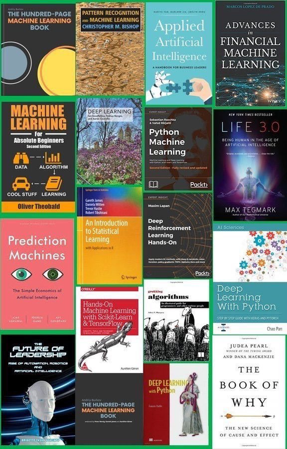 test Twitter Media - Top #AI and #MachineLearning Books to read in 2019: https://t.co/Ij9I7SzR4d ———— #BigData #DataScience #DeepLearning #Algorithms #DataScientists #BeDataBrilliant  ———— https://t.co/uOalTTNQyJ