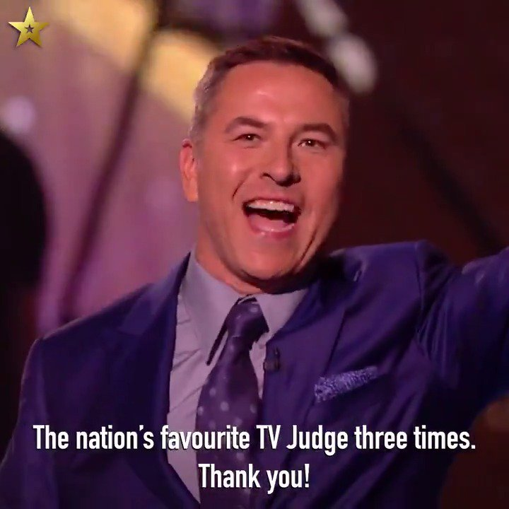 Tonight's #GoldenBuzzer goes to @davidwalliams 🎉 What have we let ourselves in for? 🙈#BGTChampions
