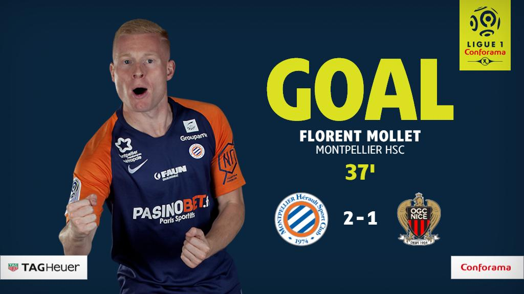 @MOLLETFlorent turns the tables!  #MHSCOGCN 2-1 <br>http://pic.twitter.com/FmVLxOVmBO