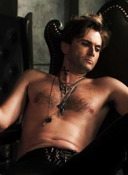 Day 38: Mr Tennant wears leather pants. <br>http://pic.twitter.com/ho1xfCxe7v