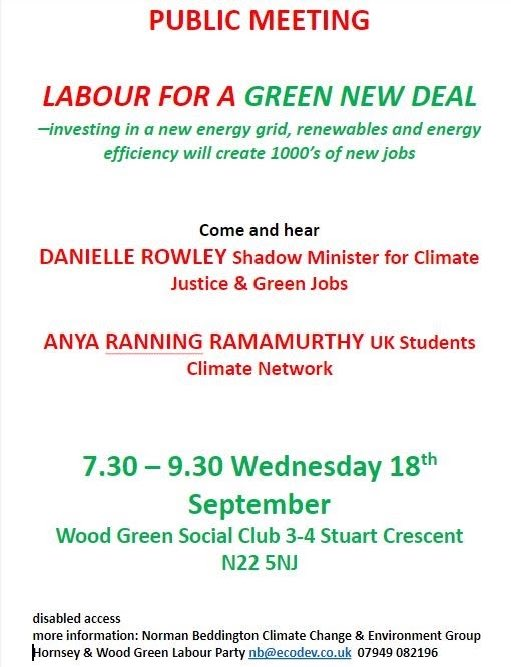 An event not to be missed. #GreenNewDeal #Labour<br>http://pic.twitter.com/IZqceyrJoP