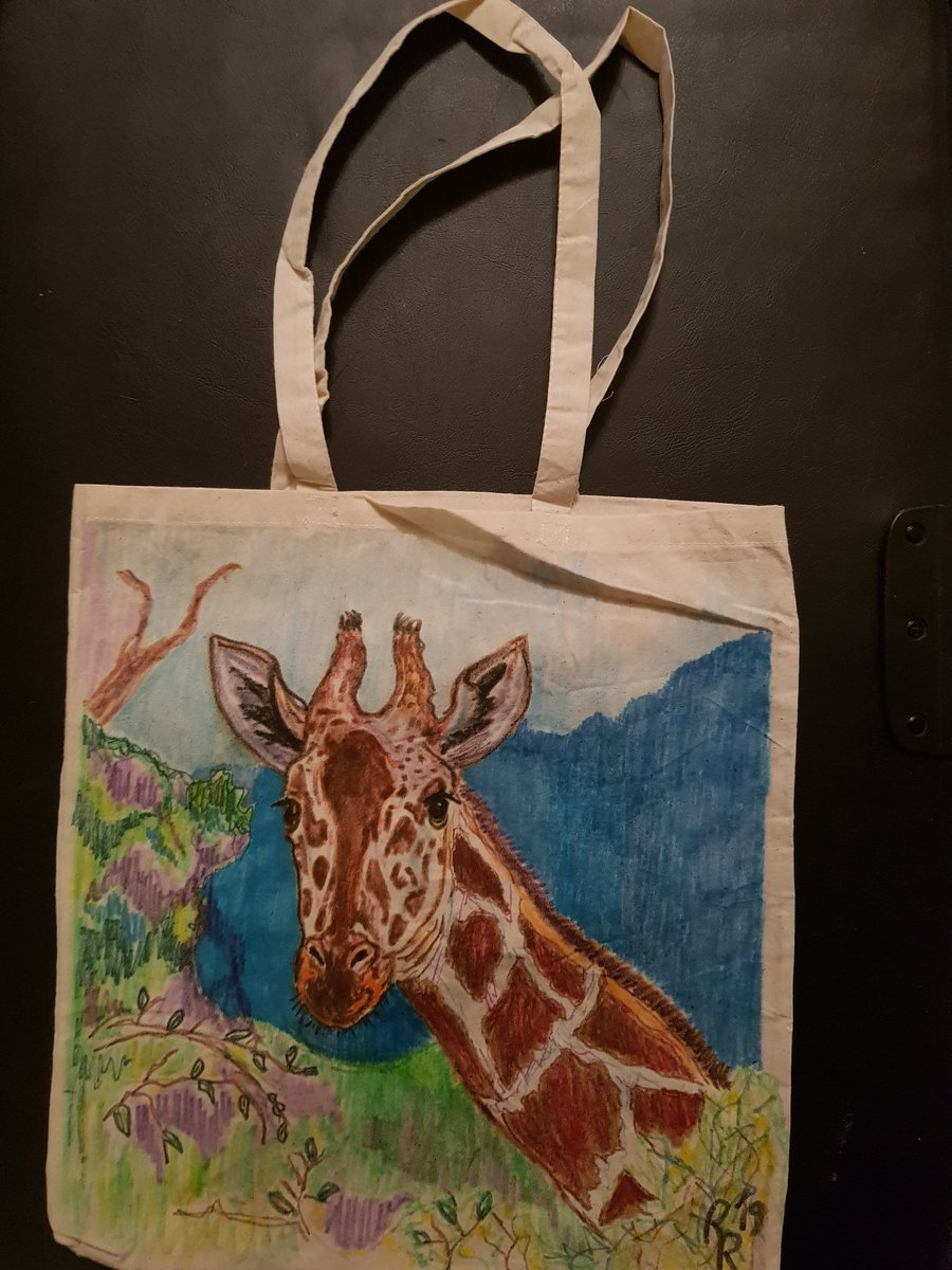 Giraffe bag finished and on etsy ❤❤