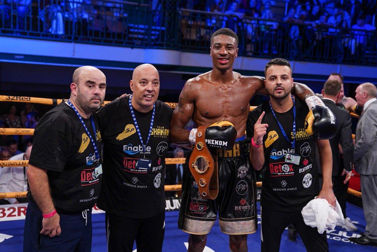 Your new English Light Heavyweight Champion 🏴🏆@ShakanPitters 👏