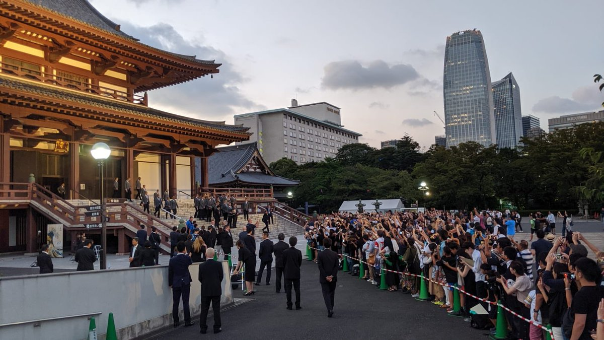 test Twitter Media - Fantastic scenes last night as fans showed up in great numbers to welcome the @AllBlacks to Japan #RWC2019 https://t.co/didaKBsTlg