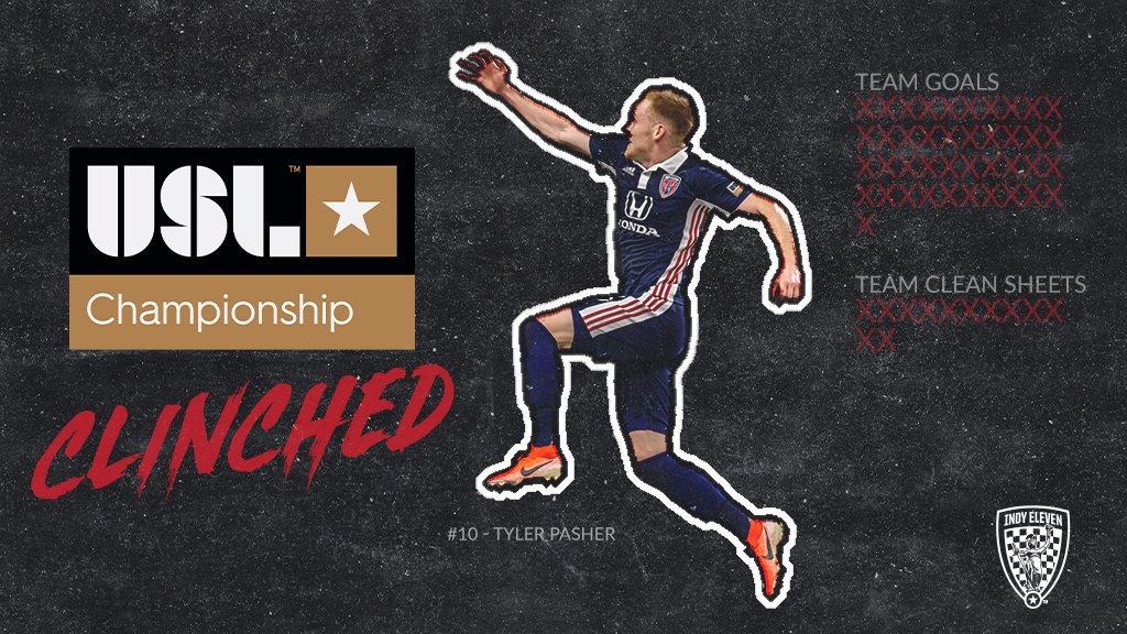 IT'S OFFICIAL: WE'VE CLINCHED OUR SPOT IN THE @USLChampionship PLAYOFFS  #HereToWin | #IndyForever | #BeChampions <br>http://pic.twitter.com/uMUqnC96nW