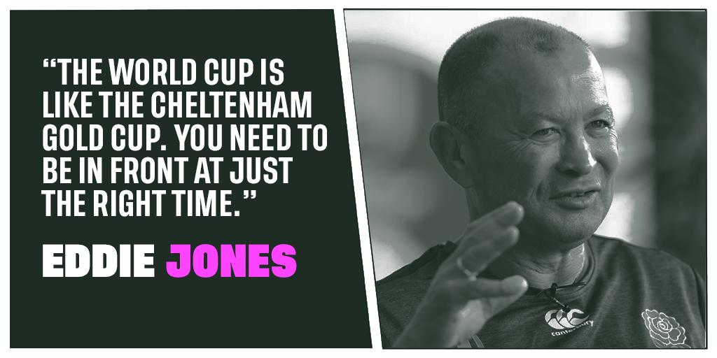 test Twitter Media - Eddie Jones has warned of peaking too soon at #RWC2019  as they prepare for the first game of the tournament.   More: https://t.co/3GoHfYEd7v  #ENGvTGA https://t.co/dxnl2sCYmH