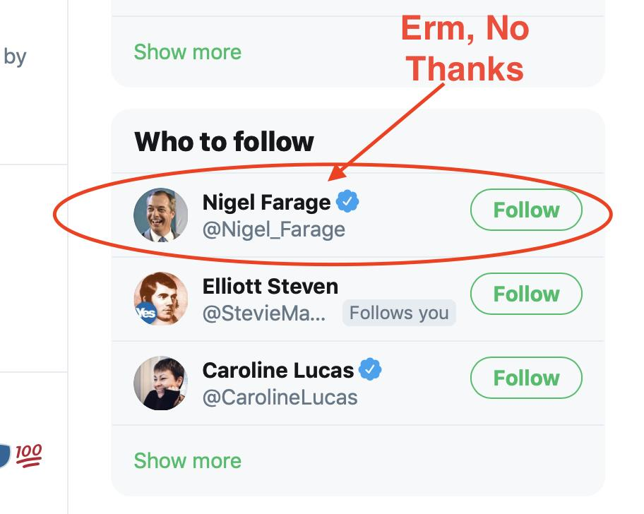 Twitter just actually suggested I follow this person? For real, Twitter? Are you no ready my Tweets here??<br>http://pic.twitter.com/oAeSLgobtR