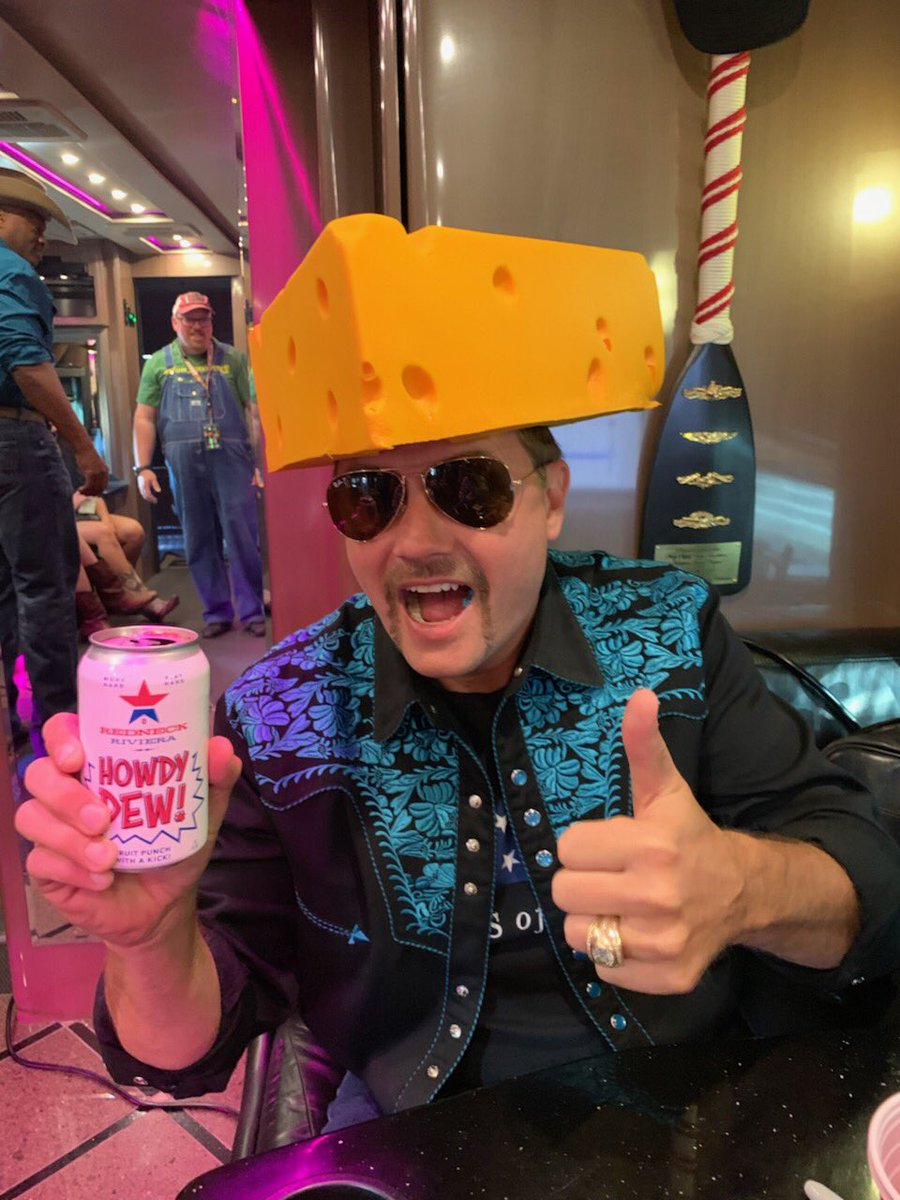Hard for a @dallascowboys fan to wear a cheese head! But I love the people up here! #GoPackGo @packers #HowdyDew