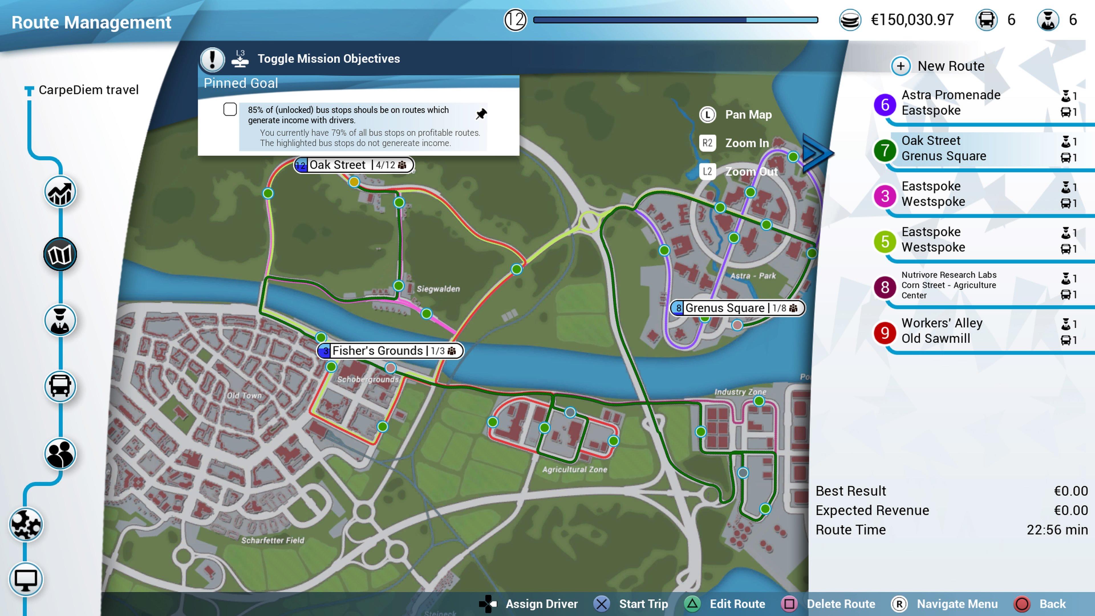 Routes plannen