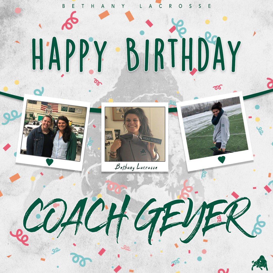 A big Happy Birthday shoutout to Coach Geyer aka Coach Blake aka Coach Liz!!! Hope your day is amazing