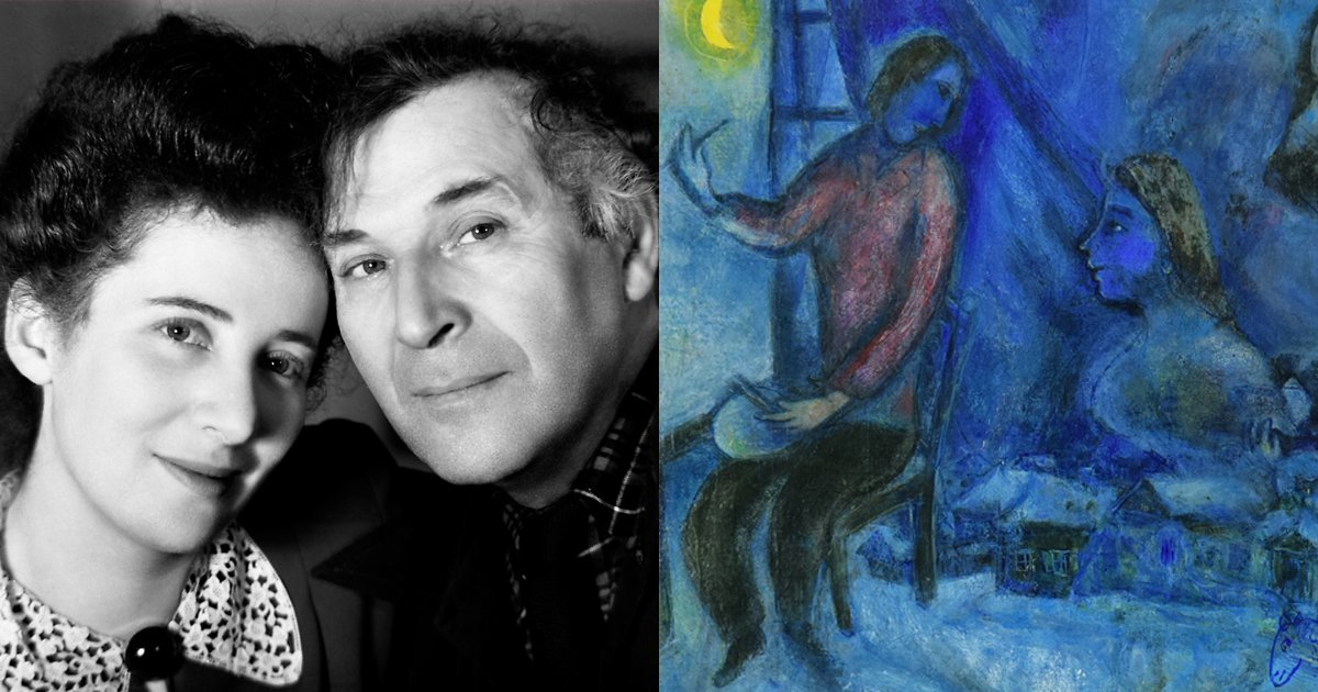 How Chagall's daughter smuggled his work out of nazi-occupied Europe: bit.ly/2Q9hw8w