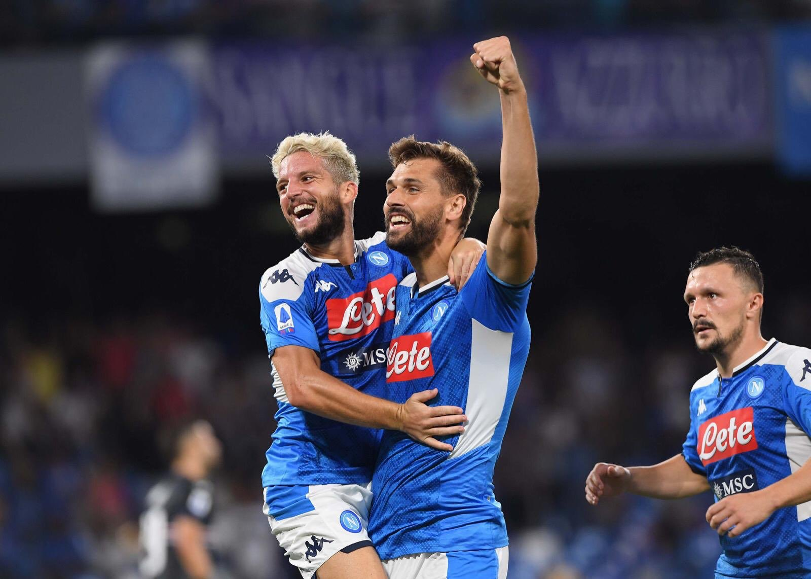 Napoli vs Sampdoria Highlights - 14 September 2019