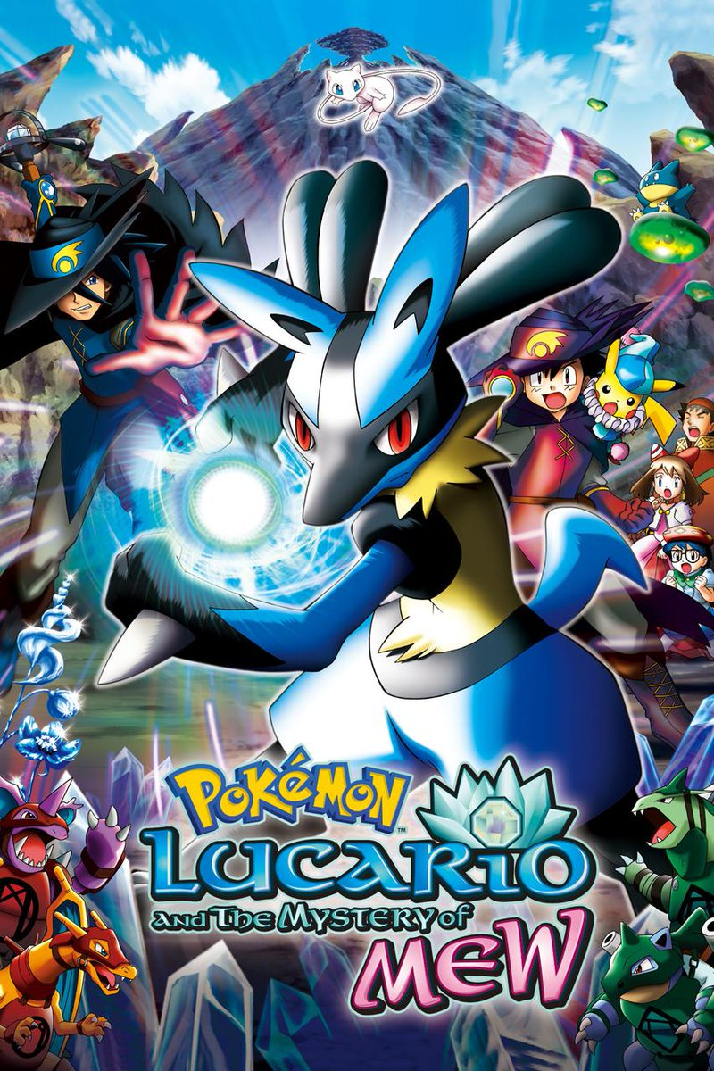 13 years ago today, Pokémon: Lucario and the Mystery of Mew was first released in North America! It is the third Advanced Generation series movie, and the eighth Pokémon movie overall. bulbapedia.bulbagarden.net/wiki/M08