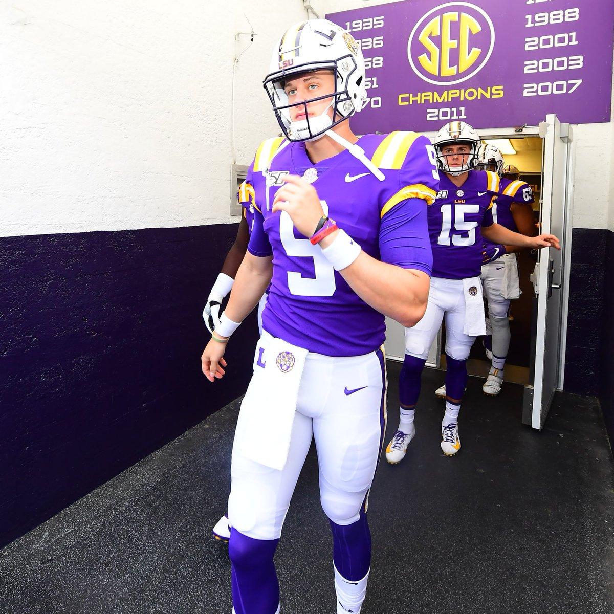 Your Starting Quarterback. A Senior from Athens, Ohio. Joe. Burrow.