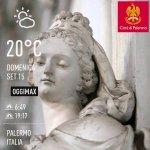 Image for the Tweet beginning: Buongiorno e buona domenica #Palermo