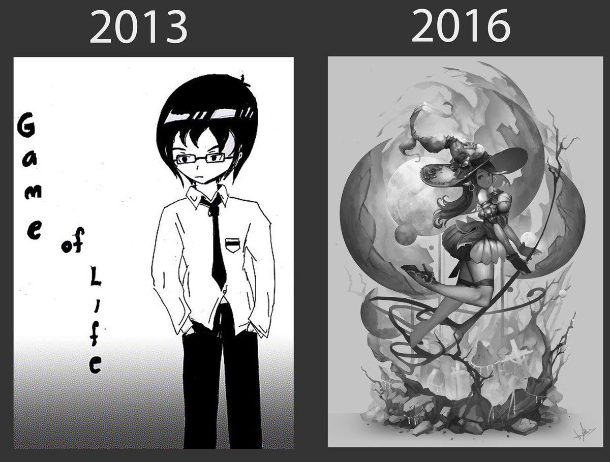 my art development 2013-2016 #artist #digitalart  #PortfolioDay <br>http://pic.twitter.com/cWK7aPKJWt