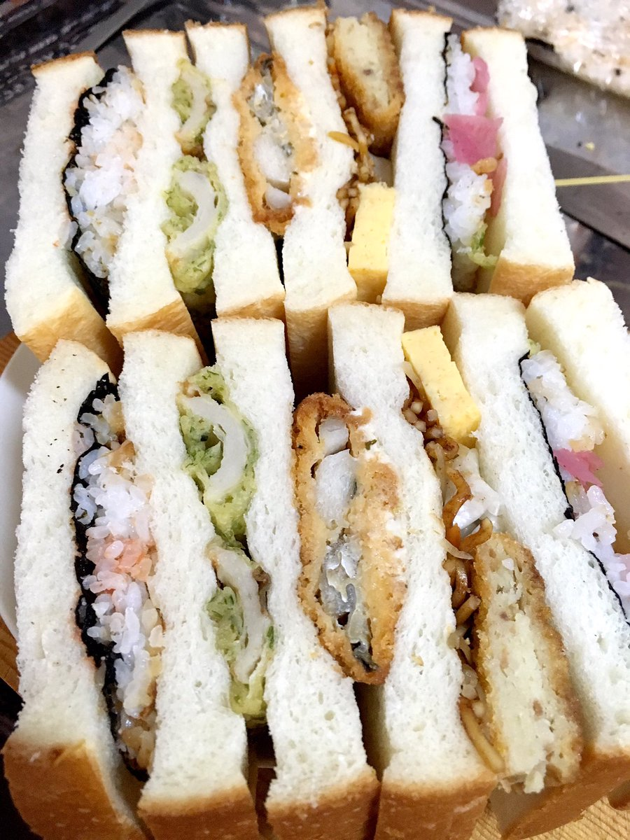 これは海苔弁のダグウッド風サンドイッチ