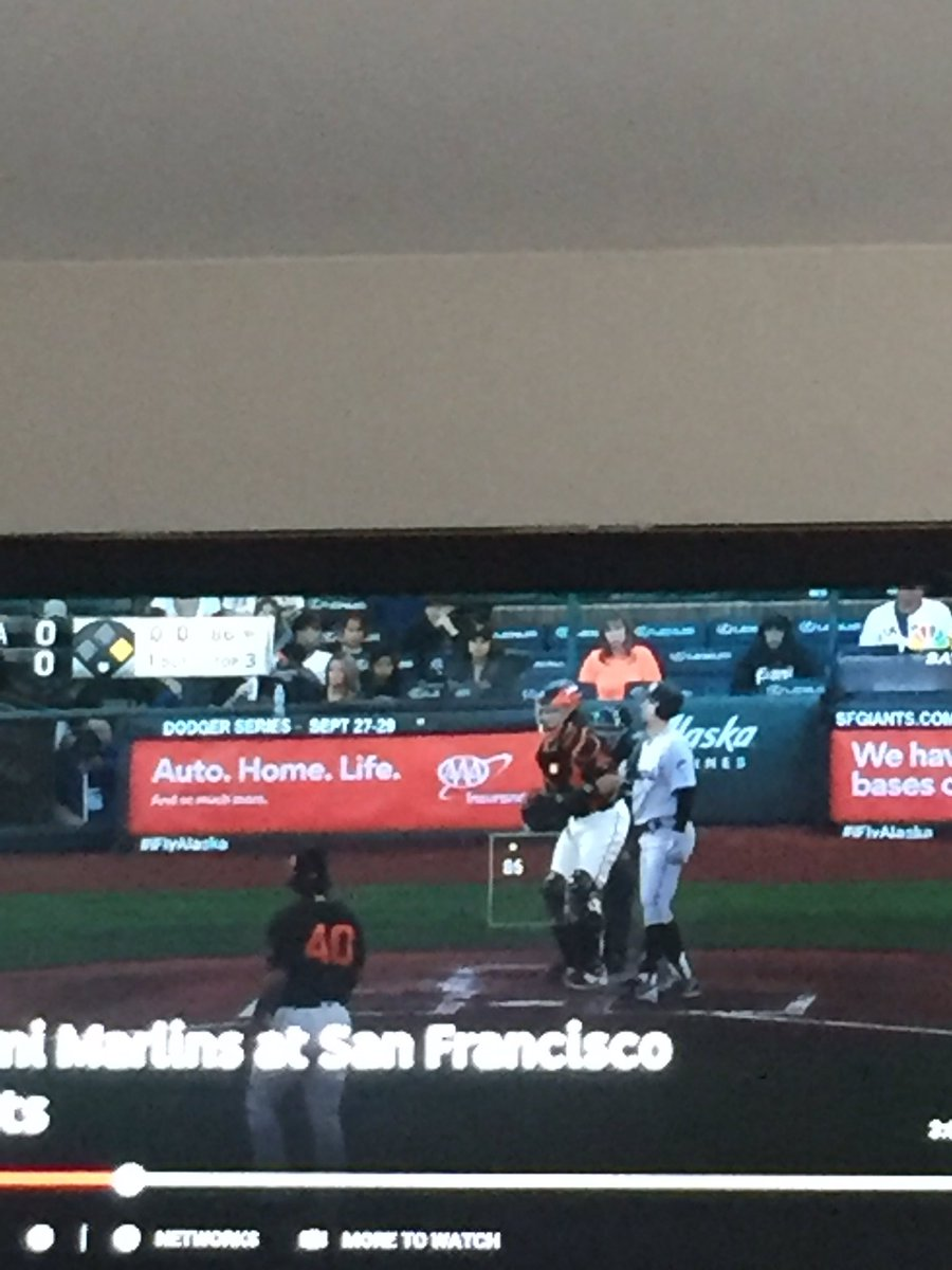 @keithlaw #umpshow in sf. Madbum almost got tossed. How is Cb bucknor still employed? Ball 1