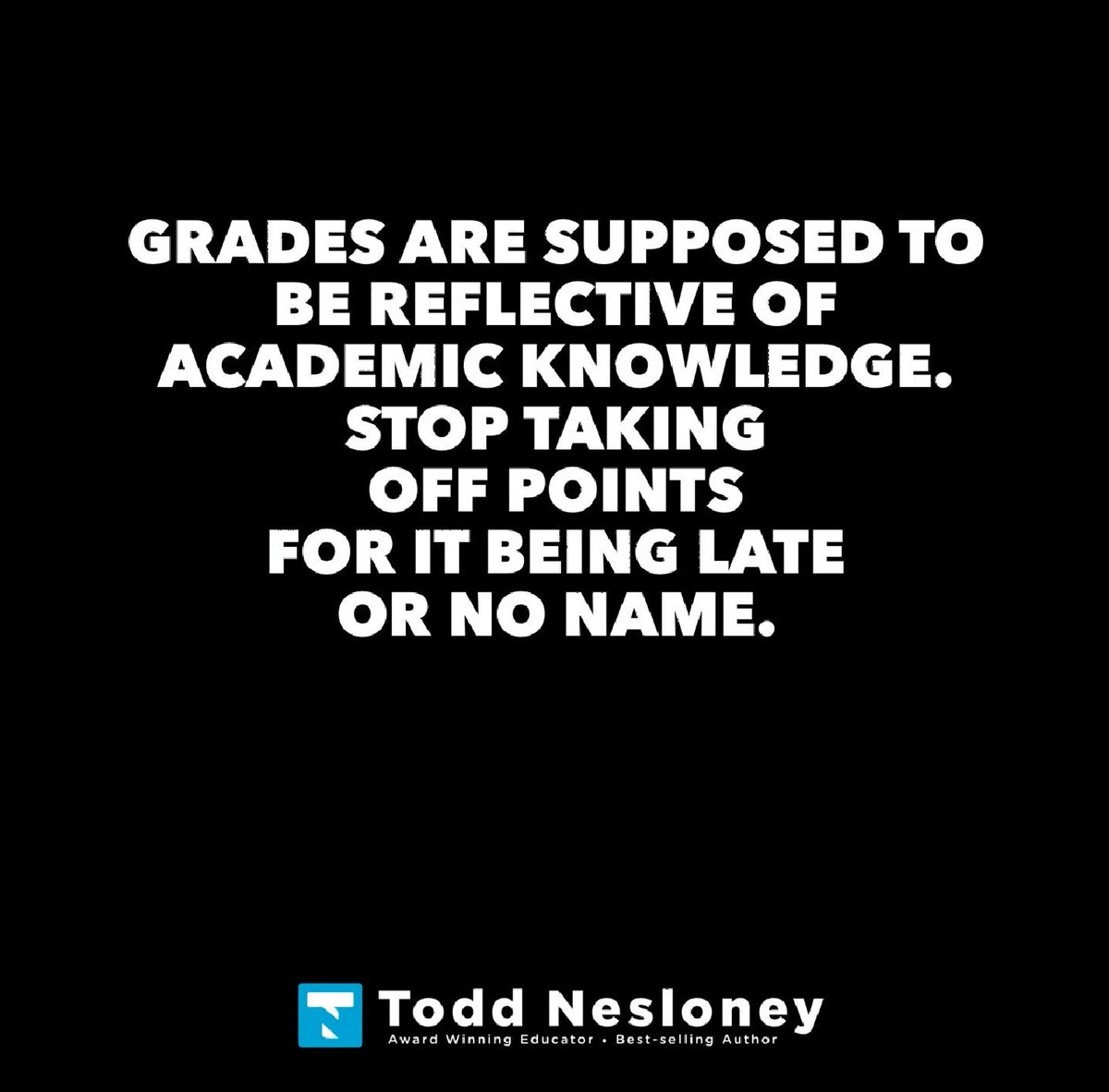 Something to think about...@TechNinjaTodd