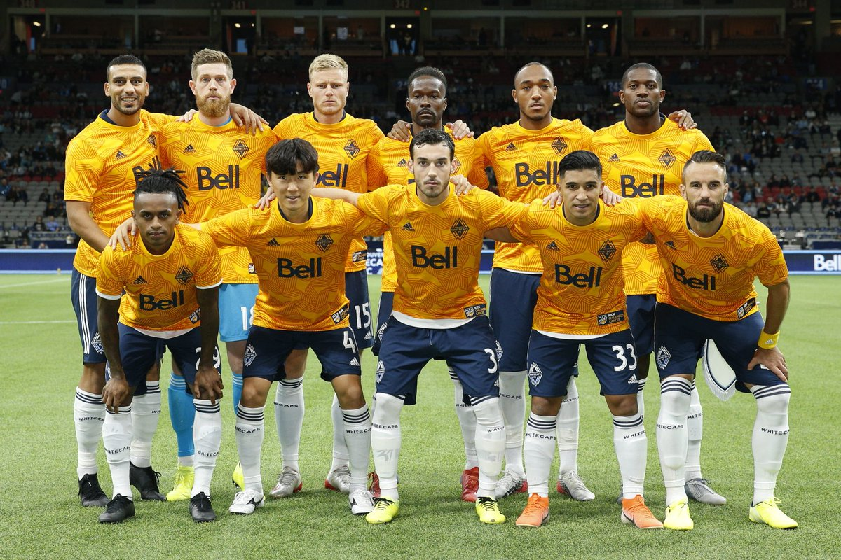 Underway. For every RT on this photo, @MLS will donate $1 to help #KickChildhoodCancer. #VANvHOU | #VWFC