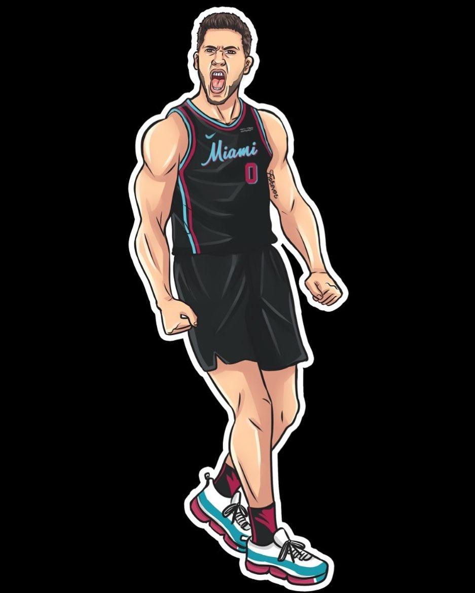 這幅漫畫怎麼樣?Meyers Leonard社媒曬個人漫畫形象-Haters-黑特籃球NBA新聞影音圖片分享社區