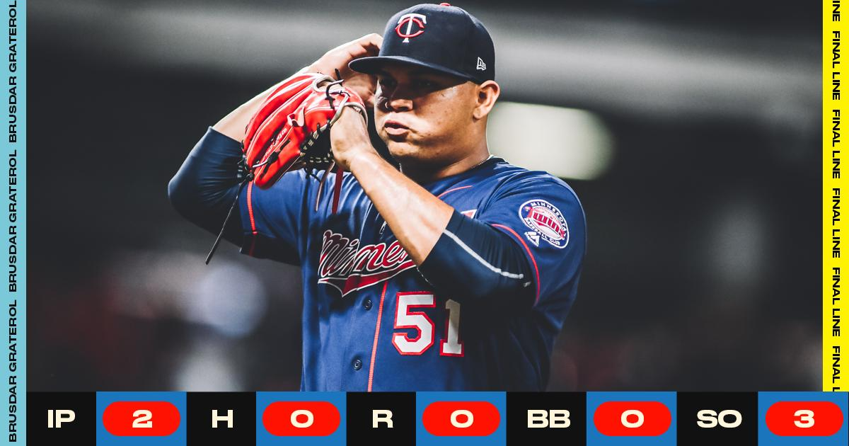 X-factor rookie Graterol settling in with Twins