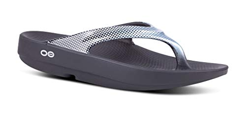 OOFOS - Women's OOlala Satin - Post Run Sports Recovery Thong Sandal - Black/Pixel Platinum - W8 -  https:// home-sports-fitness.com/product/oofos- women-s-oolala-satin-post-run-sports-recovery-thong-sandal-black-pixel-platinum-w8/  … <br>http://pic.twitter.com/08UNmpjczp