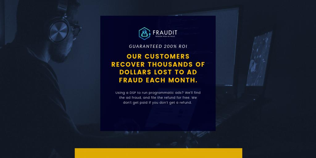Dealing with #adfraud #DMEXCO19 #dmexco #dmexco2019 ? We have the solution! https://fraudit.tech