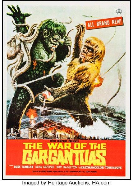 "#NowWatching ""War of the Gargantuas""(1966), starring Russ Tamblyn, Kumi Mizuno, and Kipp Hamilton, on COMET-TV(@WatchComet).<br>http://pic.twitter.com/XCnAYekGZF"