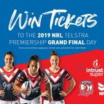 Image for the Tweet beginning: NRLW Sydney Roosters Premier Partner