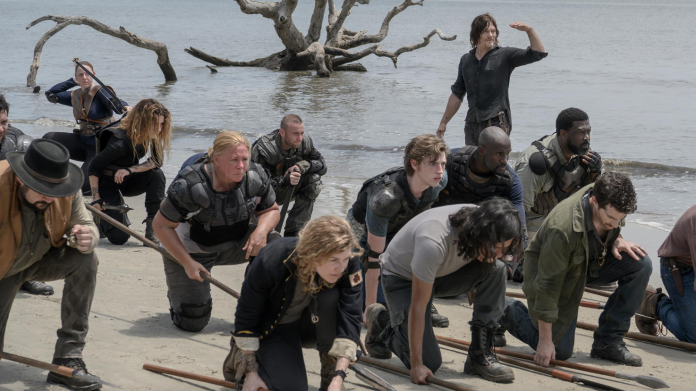 "#TheWalkingDead director Greg Nicotero says first two episodes of @WalkingDead_AMC Season 10 are ""pretty badass"": comicbook.com/thewalkingdead…"