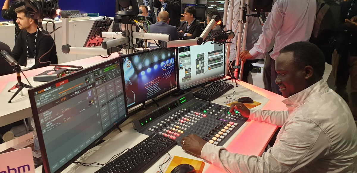 Currently in Amsterdam for the International Broadcasting Convention 2019. It is always a wonderful experience tapping into the latest conversations and technology in the broadcasting world. #IBC2019<br>http://pic.twitter.com/43N8S5cYxF