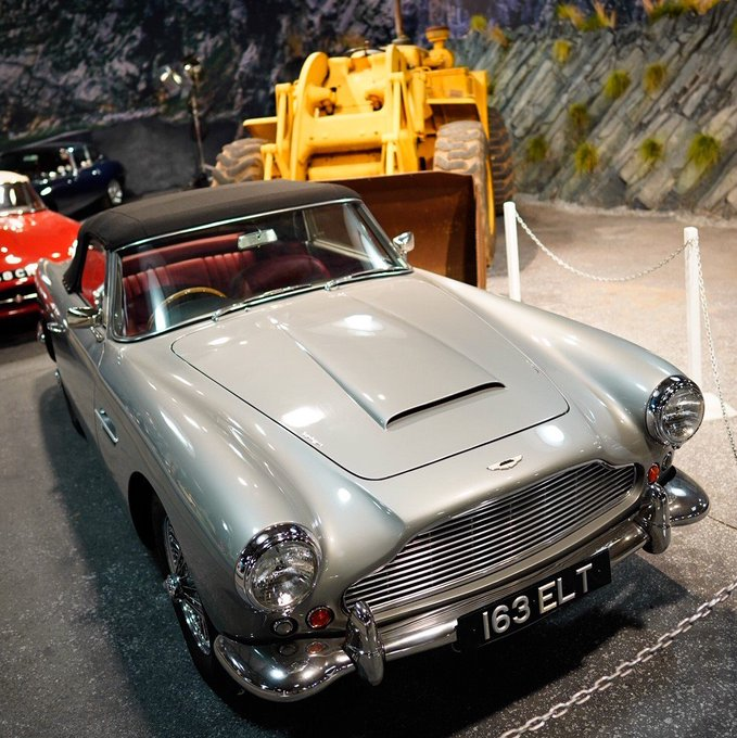 Movie star. This 1962 Aston…