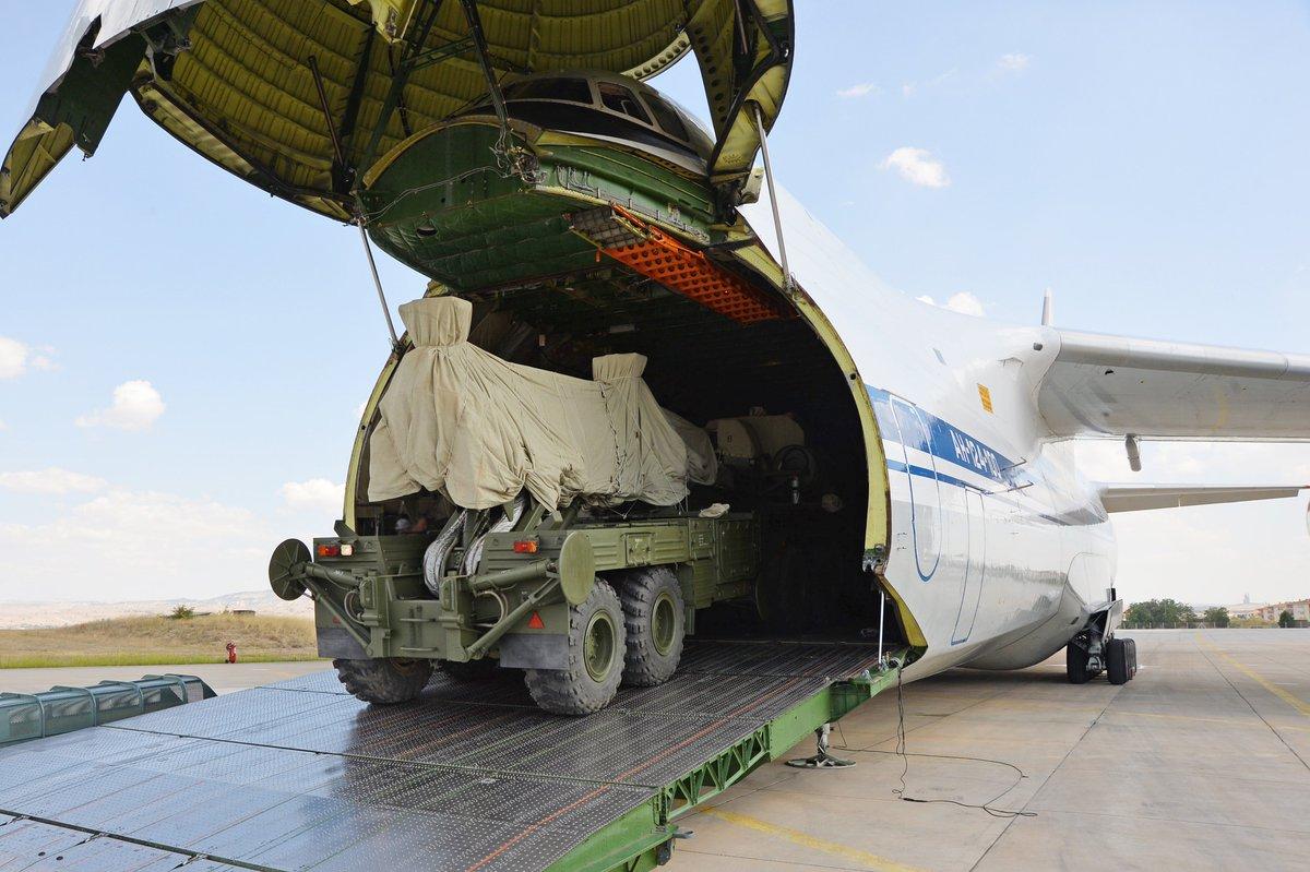 Турция заявила о завершении второй партии поставок ракетных комплексов С-400