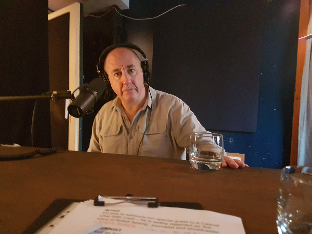 Thanks for all the early feedback already on my podcast interview with @bigdaddybunce  Steve Bunce, which is now live. Click the link to listen A Casual Chat With Cass:  https://apple.co/2DgQenMACAST: https://bit.ly/2vd1VrfSPOTIFY: https://spoti.fi/2v4z1JN