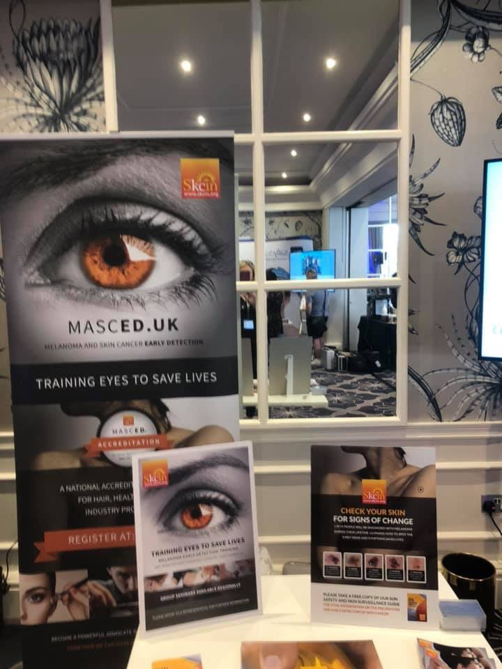 We are ready to meet lots of beauty professionals and spread the word about http://MASCED.uk  and how this online training is helping harness the power of the industry to save lives. https://twitter.com/babtac/status/1173129395172708353 …