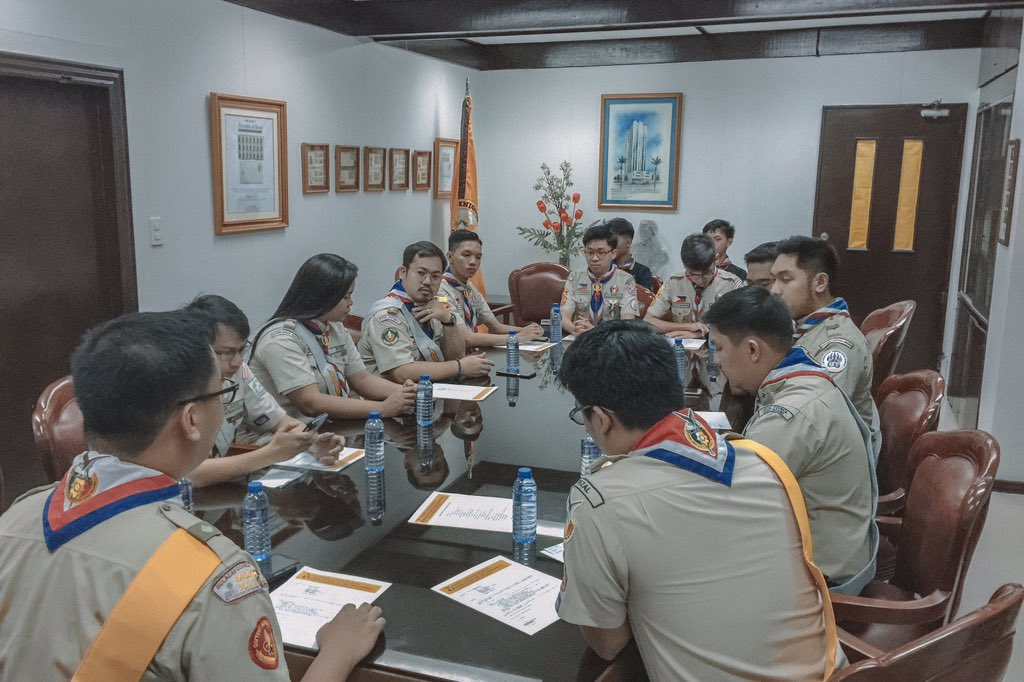 The National Eagle Scouts Association of the Philippines General Meeting #LipadNESAPh #MakeItHappen #EagleScout<br>http://pic.twitter.com/rrLmPkcgIs