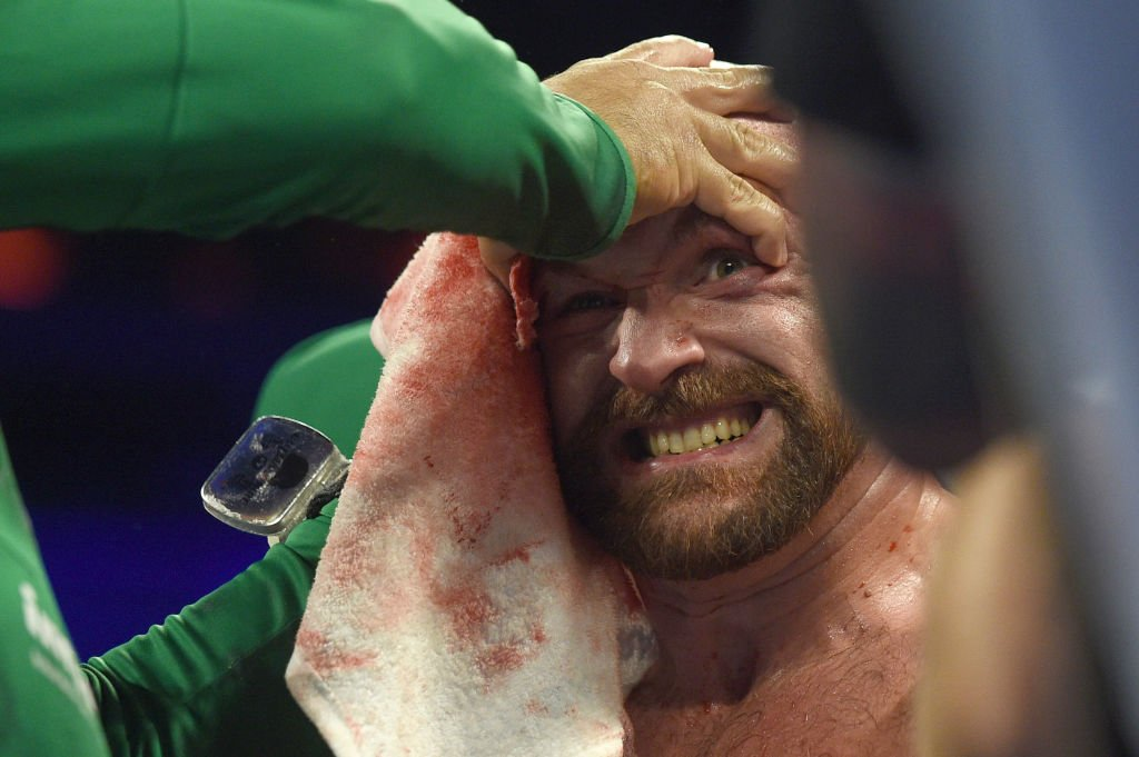 """It's the worst I've seen from Tyson.""Tyson Fury's dad says things are not right.Read more: https://bbc.in/2lWNRAr  #bbcboxing #FuryvsWallin"