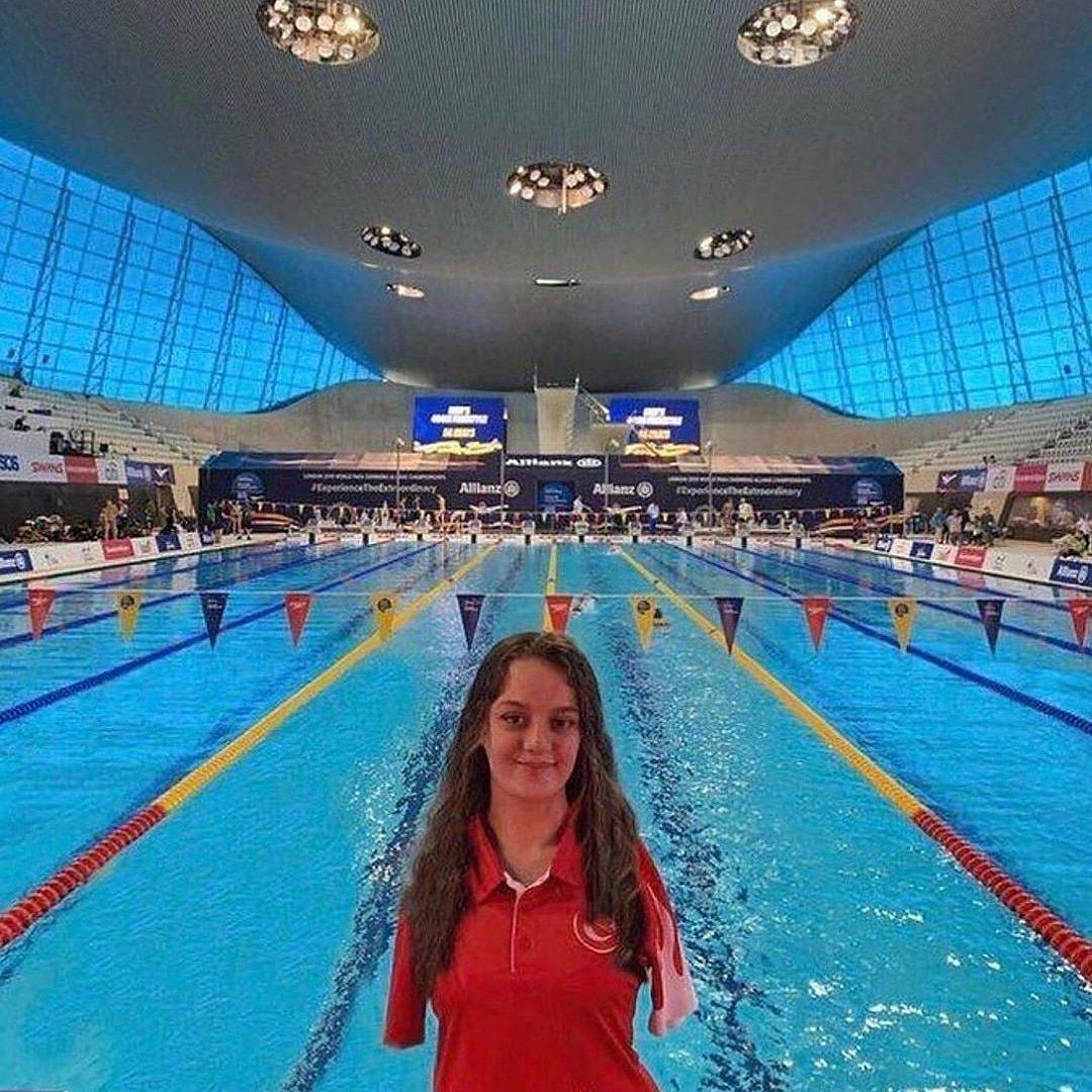 Dünya Paralimpik Yüzme Şampiyonası'nda ikinci olan ülkemizin gururu Sümeyye Boyacı'yı tebrik eder başarılarının devamını dileriz ! 🇹🇷 #silivri #silivrihaberajansi #shacomtr #silivrigazetesi #silivrihaber #silivrivizyon #silivritv #silivritelevizyonu #silivrihabertv #sümeyyeboyacı
