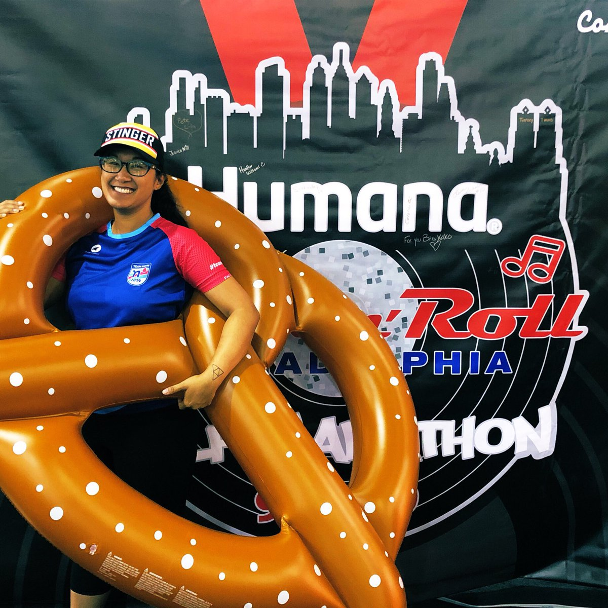 Good luck to everyone running the @RunRocknRoll Philadelphia races today! #teamnuun #hshive<br>http://pic.twitter.com/9tn46SU51r