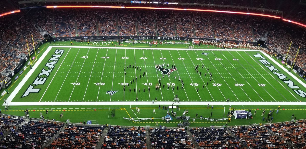 Photos: Rice's Band Trolled Texas Football On Saturday