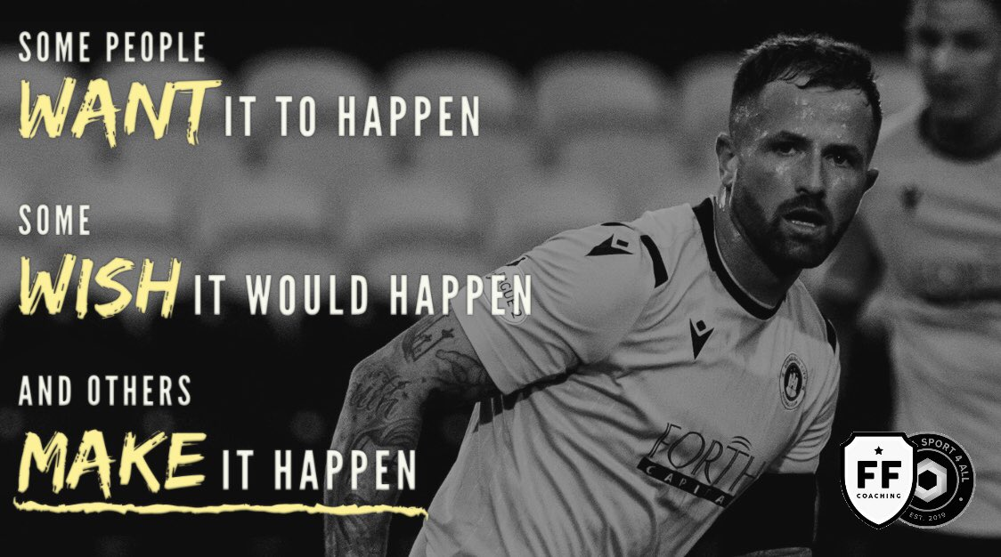#MakeItHappen   Learn & develop with coaching from @joshywalk17 & other pros:   1 to 1 coaching  October Camp   Team coaching & assessment   Train like a pro  Top venues to suit  #motivation #footballfun #footforwardcoaching #getfit #lovefootball #EdinburghFootball<br>http://pic.twitter.com/O0jZdMT1eq