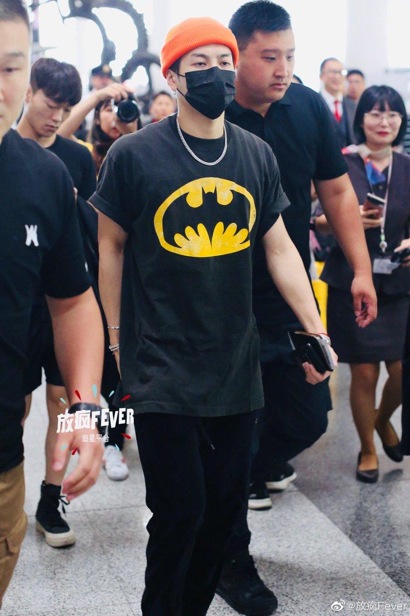 [WEIBO] 190915 放疯fever (1/3)  Jackson heading to Seoul from Beijing   #JacksonWang #王嘉尔 #잭슨 #TEAMWANG #GOT7 @JacksonWang852 @GOT7Official <br>http://pic.twitter.com/MnoRulORJY